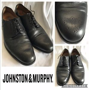 Johnston & Murphy Signature Series 10W Oxfords